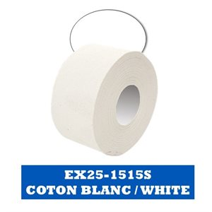 """Bleached Trainers Tape 36mm x 13m / 1.5"""" x 15 yds - 32 r / c"""