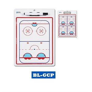 "Double Sided Goalie Coach Board 9.5'""x 14"""