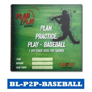 PLAN2PLAY - BASEBALL COACHING BOOKLET / BOARDS