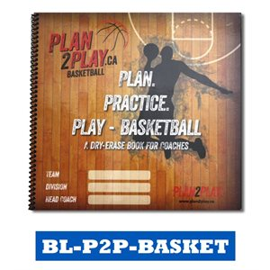PLAN2PLAY - BASKETBALL COACHING BOOKLET / BOARDS