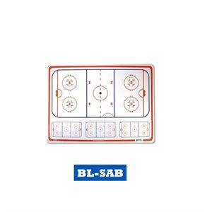 "Tableau de hockey Auto Adhésif 17""x25"""