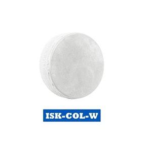 Rondelle colorée 6 onces Blanche