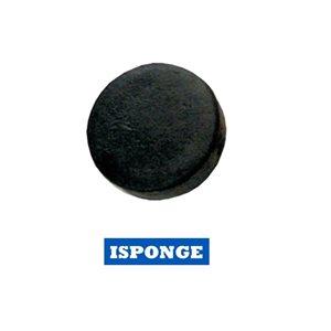 Rondelle éponge Noire / Black